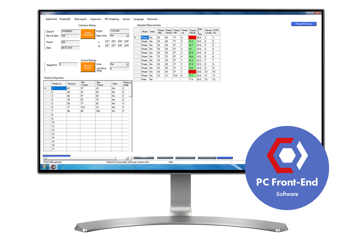 PC Front-End Software